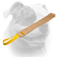 Dog bite rag made of jute for prey drive training your American Bulldog