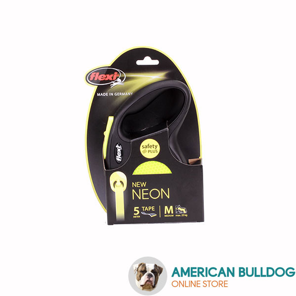 Retractable Leash with Comfortable Strong Chrome Plated Snap