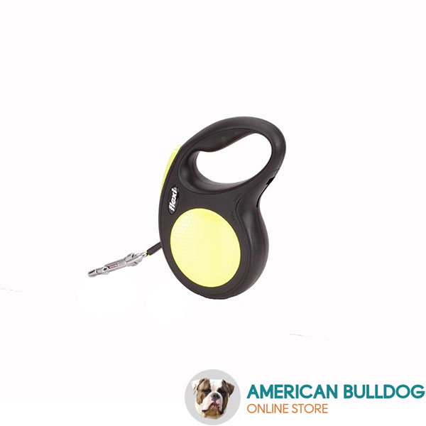 Daily Walking Total Safety Retractable Leash Neon Style