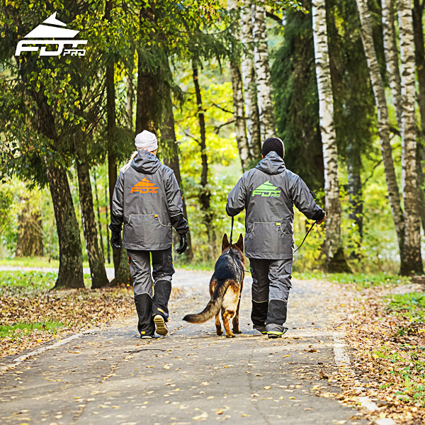FDT Professional Dog Trainer Jacket of Top Quality for All Weather Use
