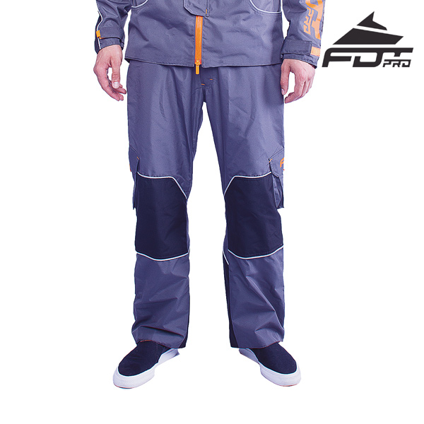 FDT Professional Pants of Grey Color for All Weather Use