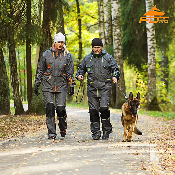 Any Weather Conditions Best quality Dog Training Suit for Men and Women