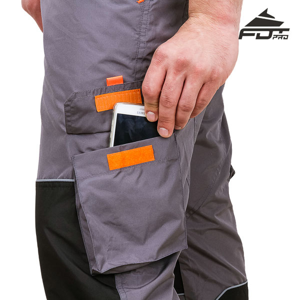 Comfy Design FDT Pro Pants with Handy Side Pockets for Dog Trainers