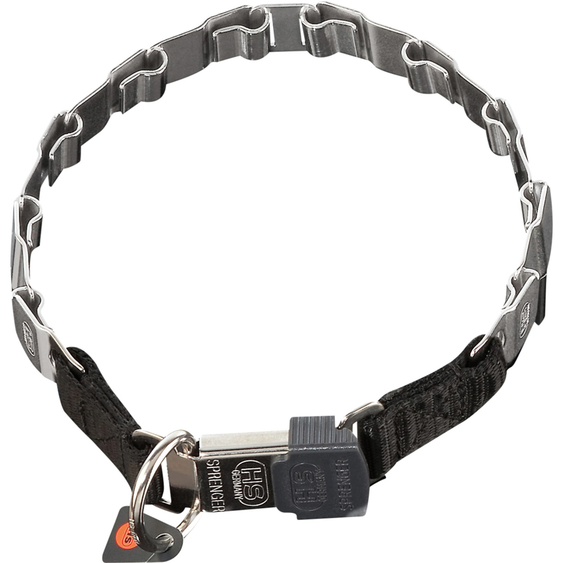 Neck Tech Stainless Steel American Bulldog Collar 19 inch (48 cm) long