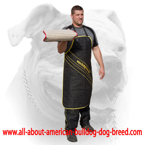 Durable and strong jute bite builder for American Bulldog