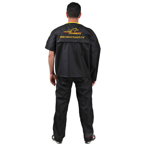 Protection wear resistant nylon jacket for American Bulldog trainer